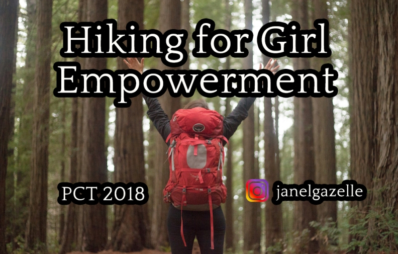 Hiking for girl power image