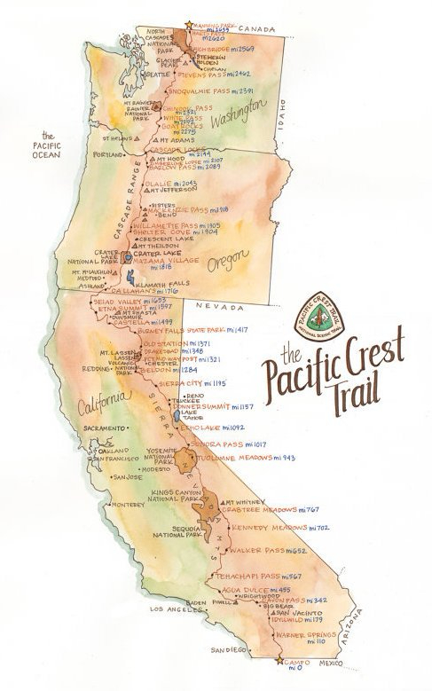 PCT map drawing